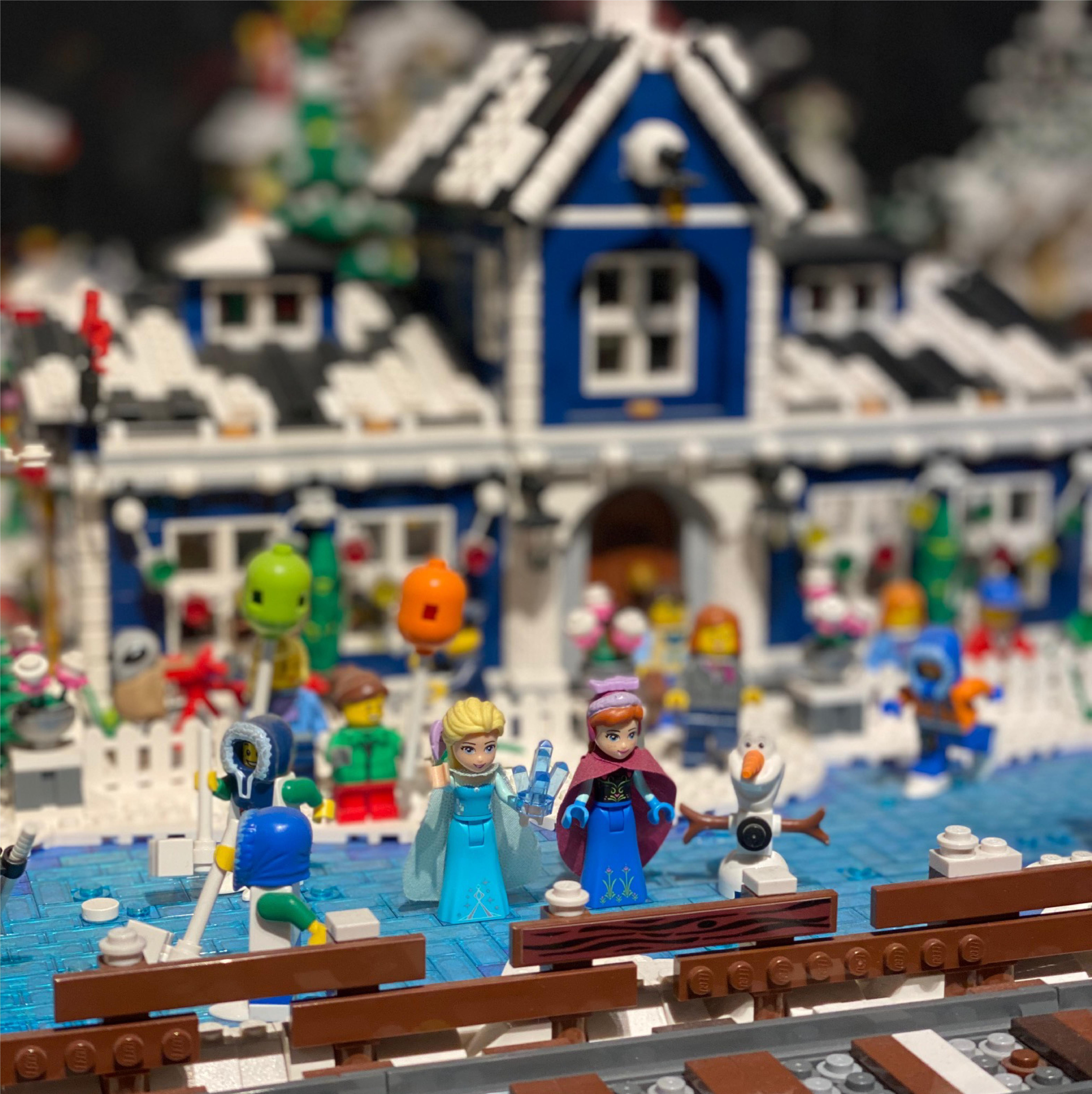 Escenas de éste y otros mundos con I LOVE LEGO en Barcelona